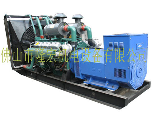 320KW Wuxi power (without moving) diesel generator-WD269TD35