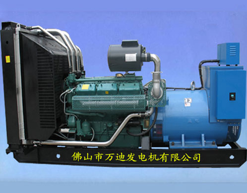 Wuxi 400KW with Lanzhou 550HP electronic speed control unit